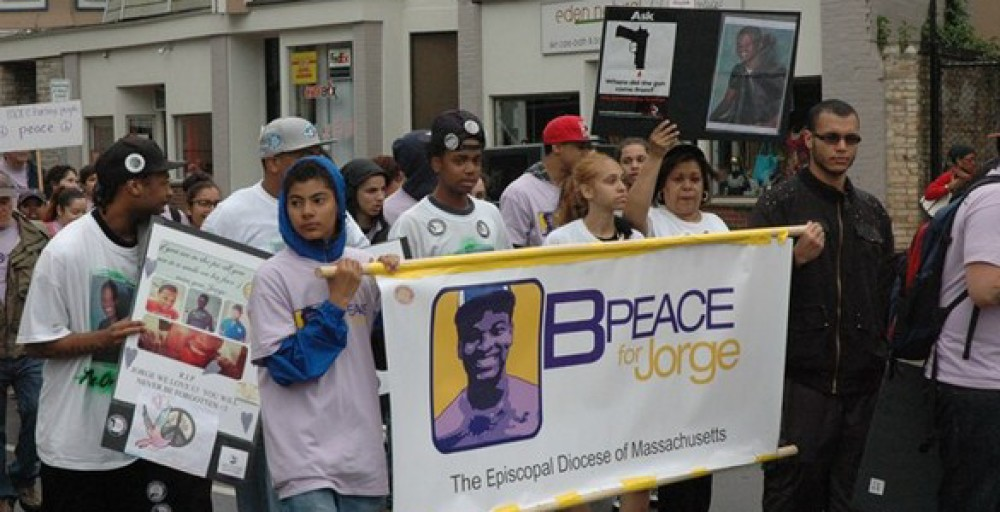 The B-PEACE for Jorge Campaign